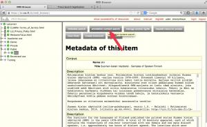 Trovan käynnistäminen IMDI-selaimen kautta