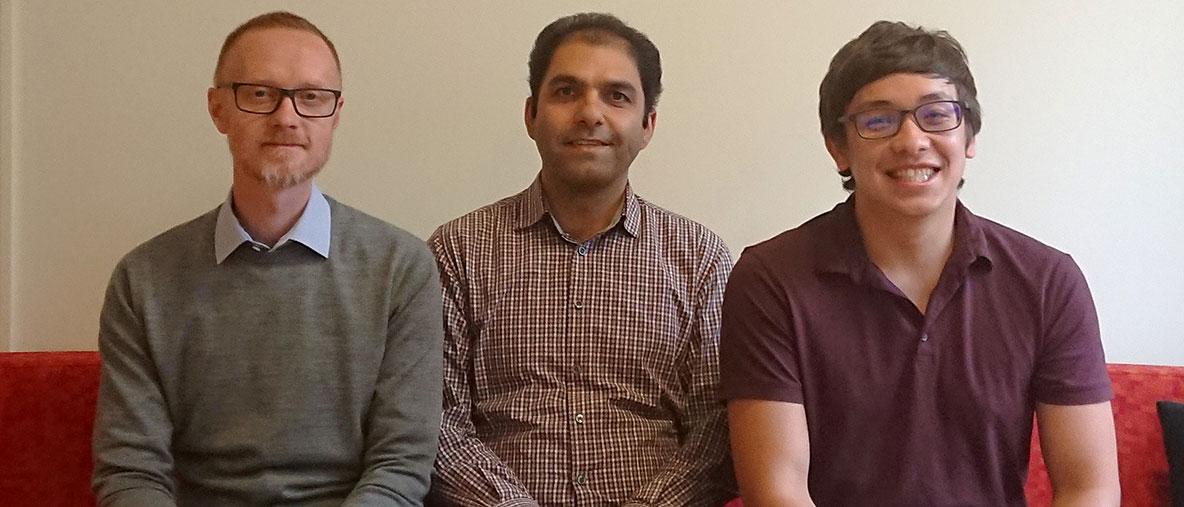 Niklas Edenmyr, Ali Basirat, Marc Tang - kuva: Ali Basirat