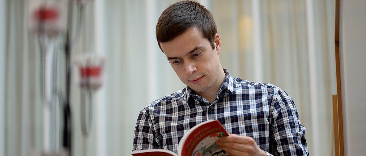 Ilja Moshnikov - kuva: Varpu Heiskanen, Itä-Suomen yliopisto